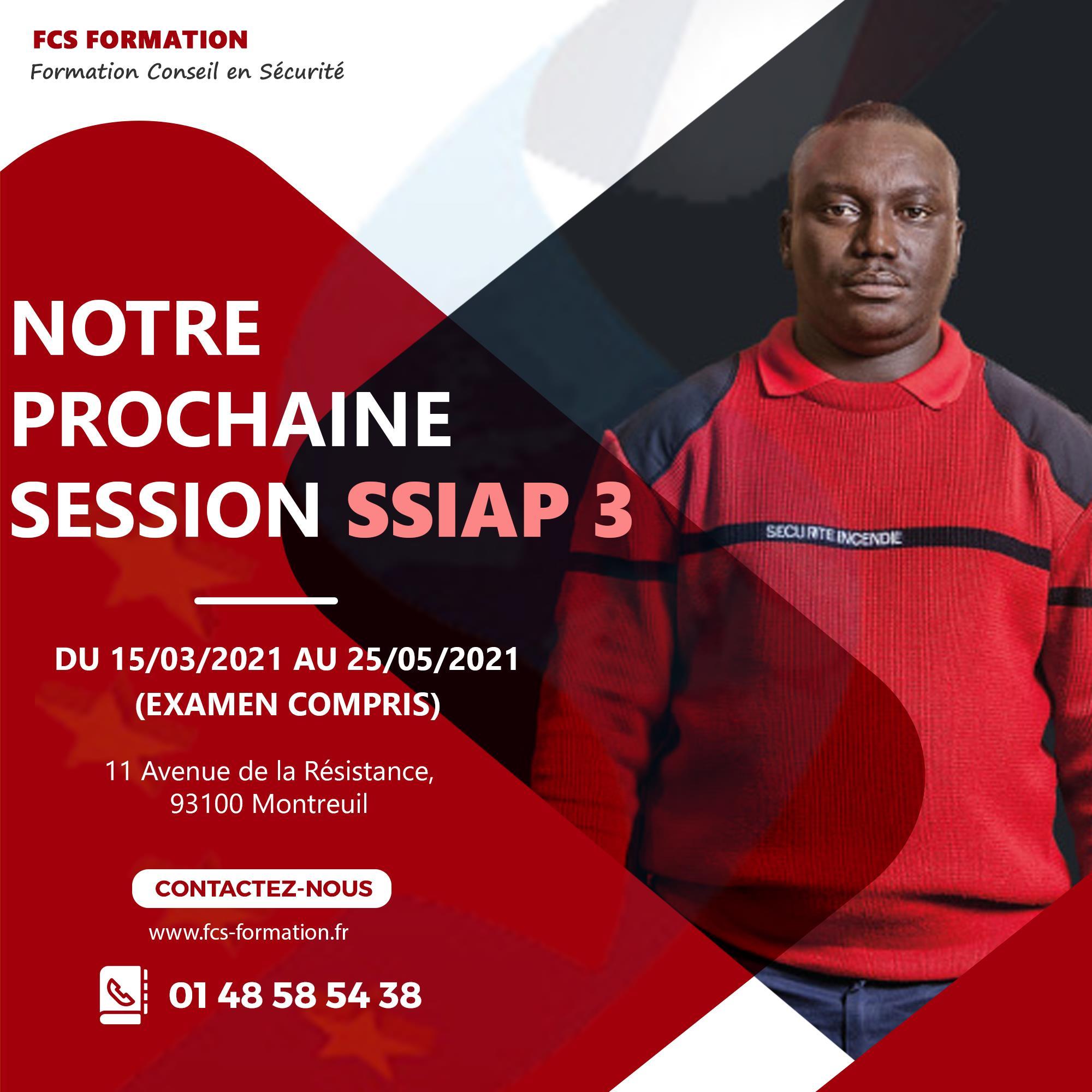 sessions ssiap 3 Recyclage & RAN SSIAP 3